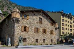Velinos do la de Andorra do centro Imagens de Stock Royalty Free