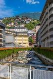 Velinos do la de Andorra do centro Fotografia de Stock