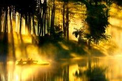 Velivoli chiari, fitta Ung, Maehongson, Tailandia Fotografie Stock