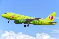 Velivoli di jet del Airbus A319 Fotografia Stock Libera da Diritti