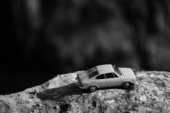 Velka Amerika, чехия - 7-ое августа 2018: модель легендарного чехословацкого автомобиля Skoda 110R назвала Erko от года 1980 в fo Стоковое Изображение RF