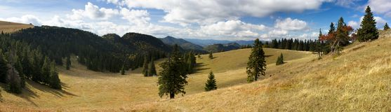 Velka Fatra mountains - mount Borysov - Slovakia Stock Images