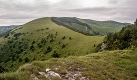 Velka Fatra mountains panorama from Majerova skala hill Royalty Free Stock Photos