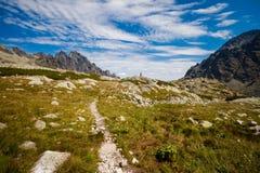 Velka slovacco Studena Dolina Tatra fotografia stock