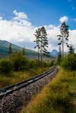 Velka slovacco Studena Dolina Tatra immagine stock libera da diritti