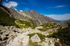 Velka slovacco Studena Dolina Tatra fotografia stock libera da diritti