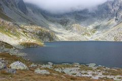 Velke Hincovo pleso in High Tatras Stock Images