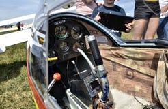 Orlik glider cockpit royalty free stock images