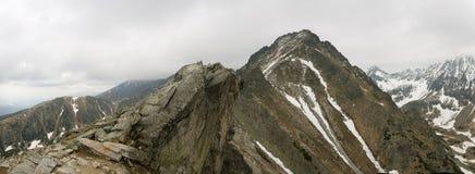 Velke Solisko em Tatras elevado Foto de Stock