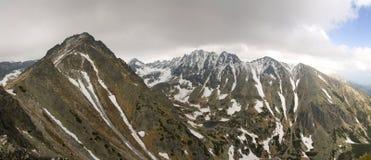 Velke Solisko in Hoge Tatras Stock Afbeeldingen
