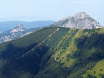 Velky Rozsutec from Chleb hill, Slovakia royalty free stock photography