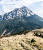 Velky Rozsutec hill in autumn Mala Fatra mountains in Slovakia Stock Images