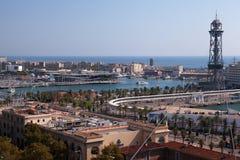 Vell portuário, Barcelona fotos de stock royalty free