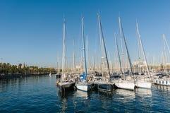 Vell portuário, Barcelona Imagens de Stock Royalty Free
