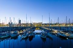 Vell portuário, Barcelona foto de stock