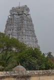 Vellai Gopuram au temple de Shrirangam Images stock