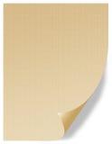 vellum золота Стоковое Изображение RF