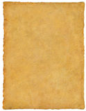 Vellum / Papyrus / Parchment. Handmade paper with great detail royalty free stock photography