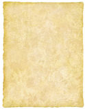 Vellum / Papyrus / Parchment. Handmade paper with great detail stock image