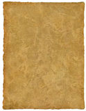 Vellum / Papyrus / Parchment. Handmade paper with great detail - really tactile with lots of rolling of the skin like true vellum Stock Image