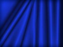 Velluto blu Fotografie Stock