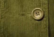 Velluto a coste verde 7 Fotografie Stock