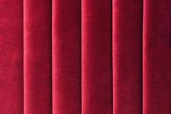 Velluto rosso Fotografie Stock