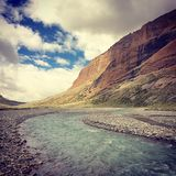 Velly. The velly in Tibet in summer stock photography