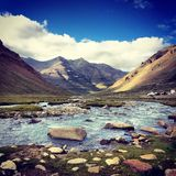 Velly. The velly in Tibet in summer Royalty Free Stock Photo