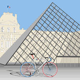 Velo de法国 免版税库存照片