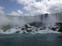 Velo nuziale di cascate del Niagara Immagini Stock Libere da Diritti