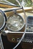 Velocímetro clásico fotos de archivo