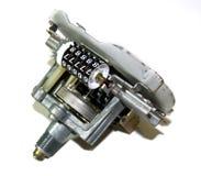 Velocímetro con el odómetro Fotos de archivo libres de regalías