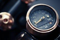 Velocímetro da motocicleta Imagem de Stock