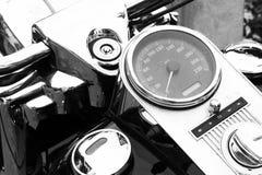 Velocímetro de la moto fotografía de archivo