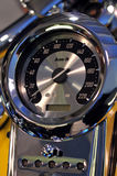 Velocímetro de la moto Foto de archivo