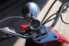 Velocímetro de la motocicleta Imagenes de archivo