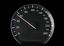 Velocímetro de um carro Imagem de Stock