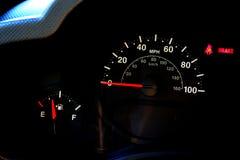 Velocímetro do automóvel Fotos de Stock