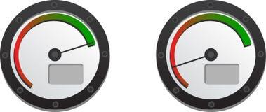 Velocímetro dos Downloads ilustração do vetor