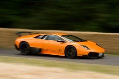 Veloce estupendo del murcielago 670 de Lamborghini Imagen de archivo