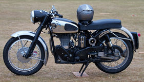Velocette Motorcycle Stock Photo