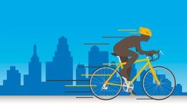 Velocidad de la bicicleta Fotografía de archivo