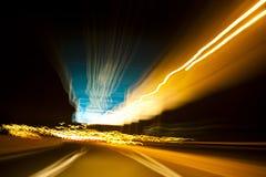 Velocidad de la carretera Foto de archivo libre de regalías