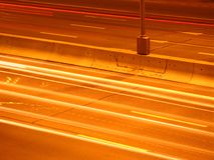 Velocidad de la luz Fotografía de archivo libre de regalías