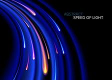 Velocidad de la luz Curvy libre illustration