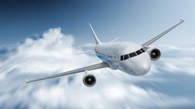 Velocidad del aeroplano Fotos de archivo