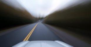 Velocidad del camino Fotos de archivo libres de regalías