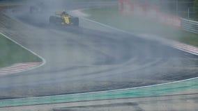 Velocidad del Fórmula 1 almacen de video