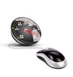 Velocidad del Internet Foto de archivo libre de regalías